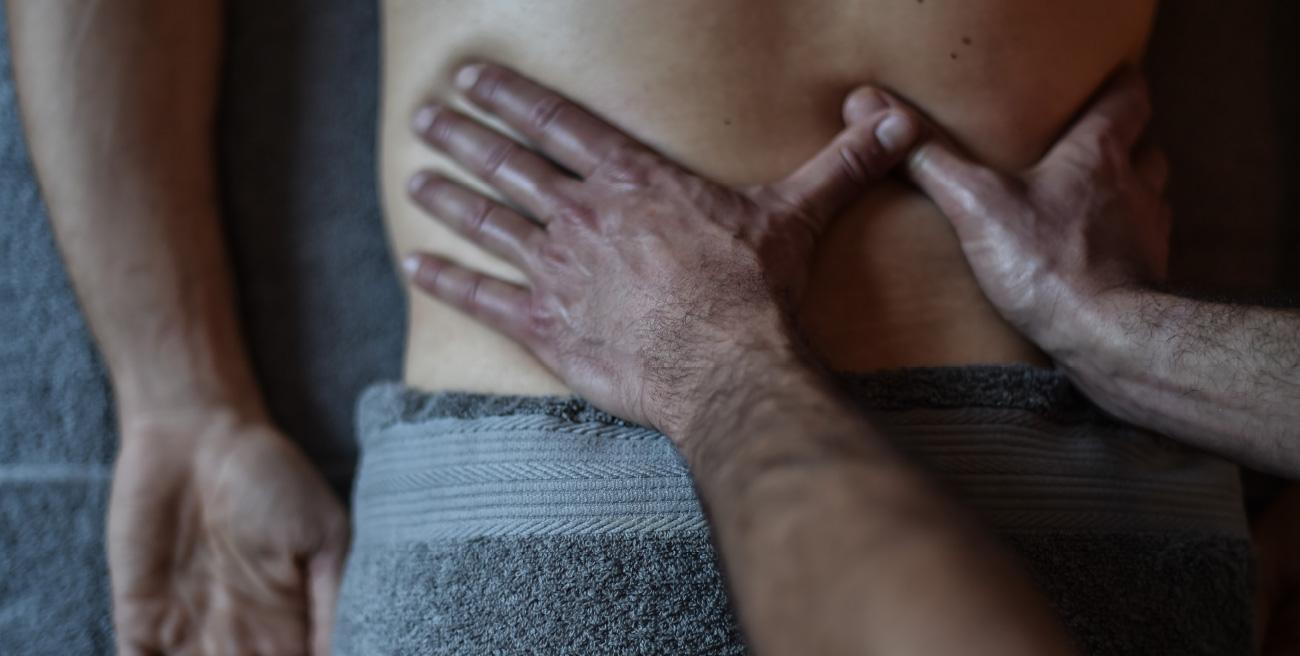 Massage entre ciel et terre
